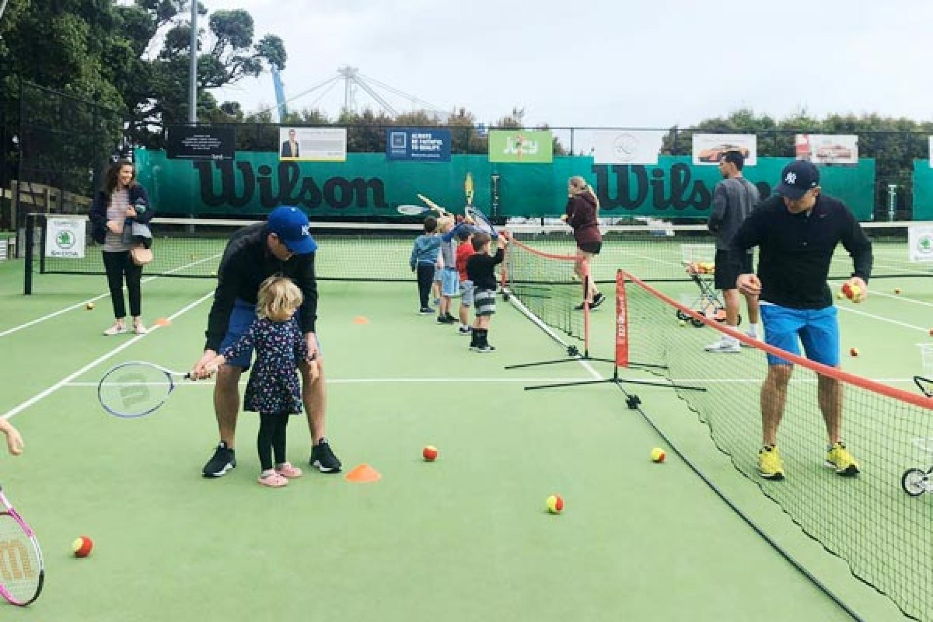 junior youth tennis