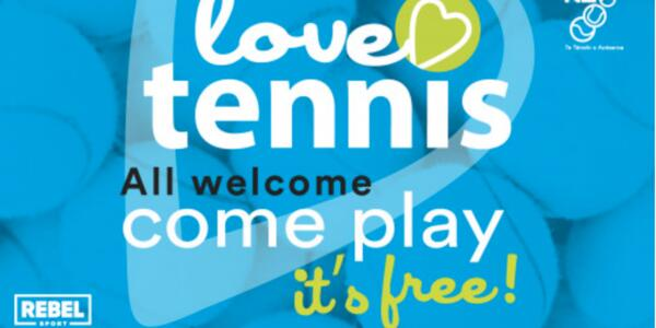 image of 'LOVE TENNIS' OPEN DAY IS COMING TO GLADSTONE!