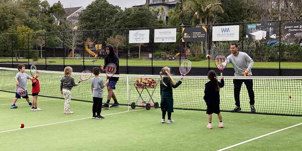 image of Kids Tennis for Term 4